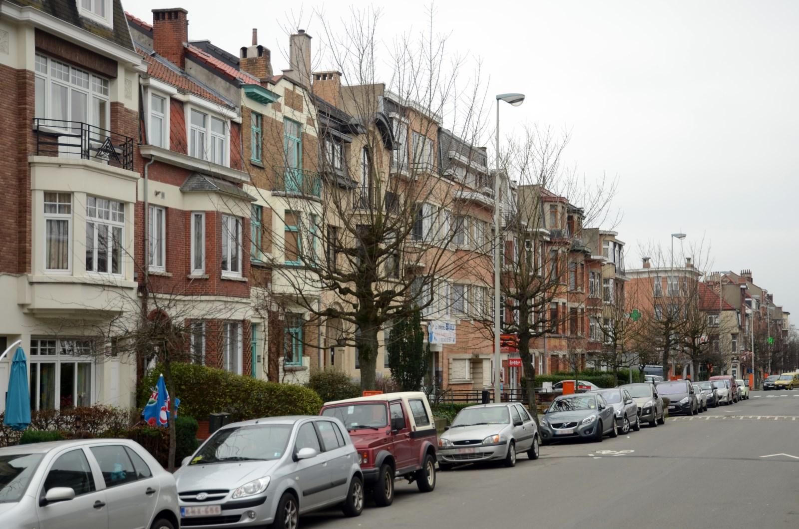 Gustave Latinislaan, eerste twee straatdelen aan onpare zijde, 2012