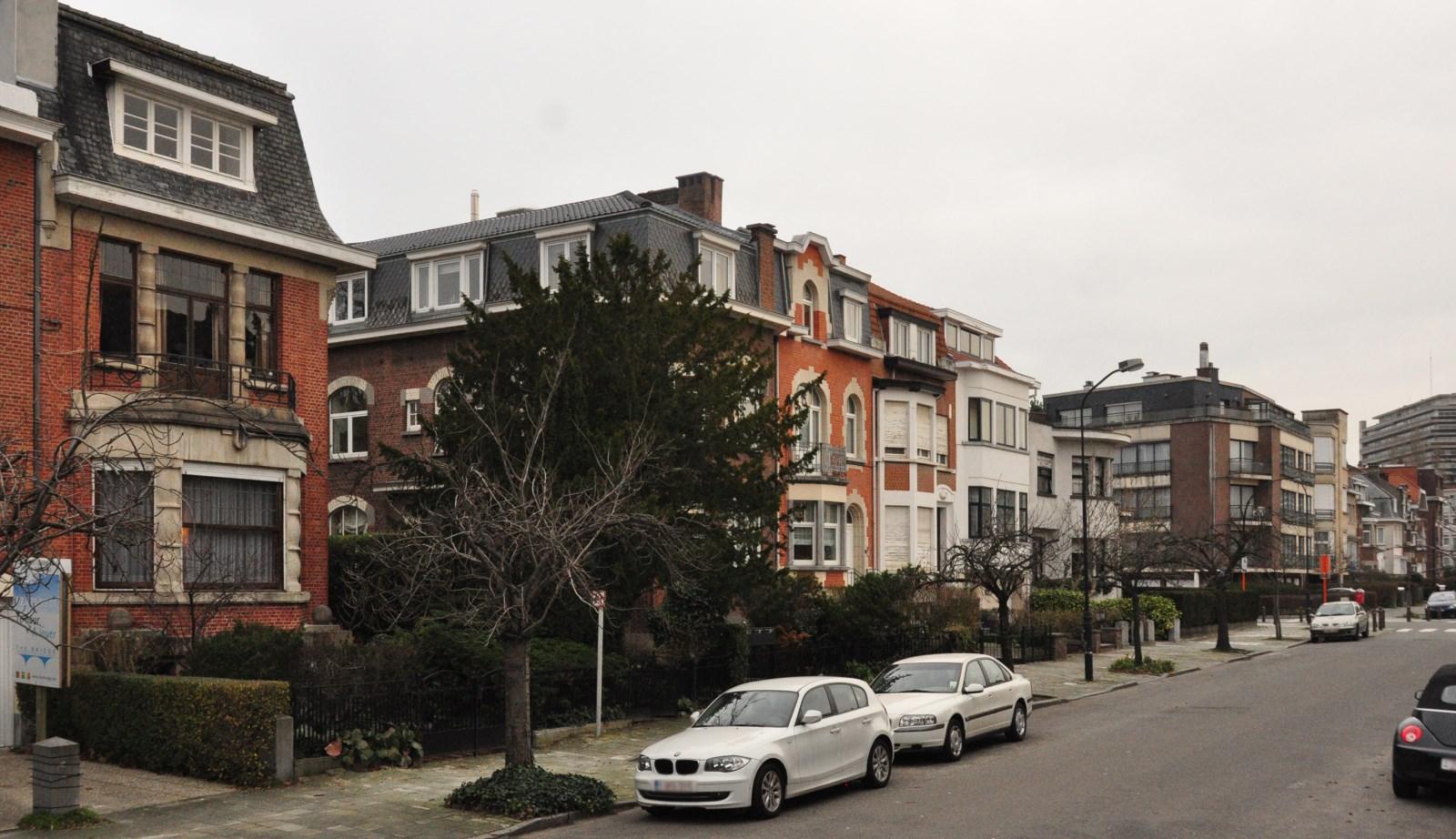 Avenue des Jacinthes, vue du côté impair, 2012