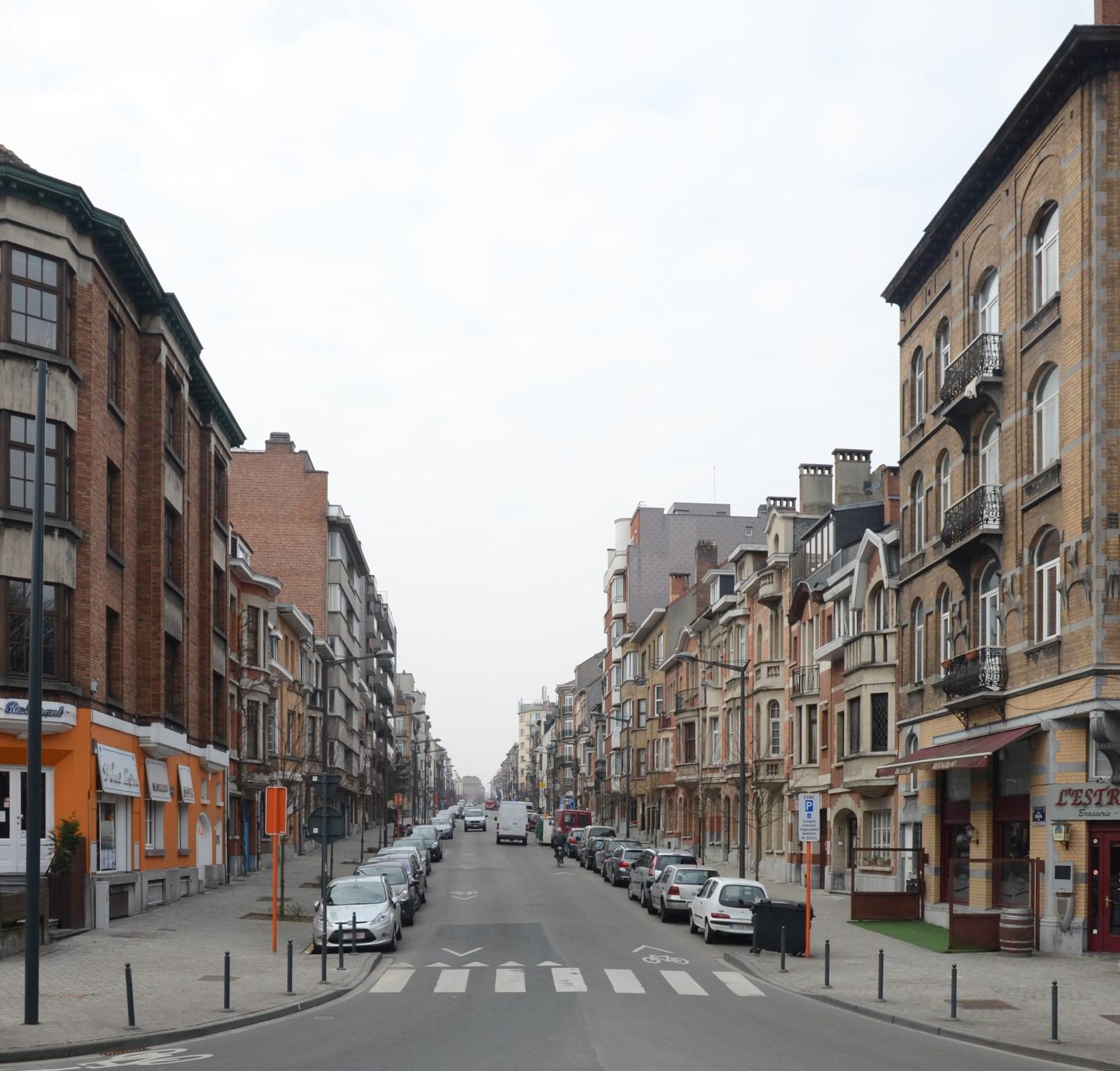 Avenue Chazal, vue depuis la place Dailly, 2013