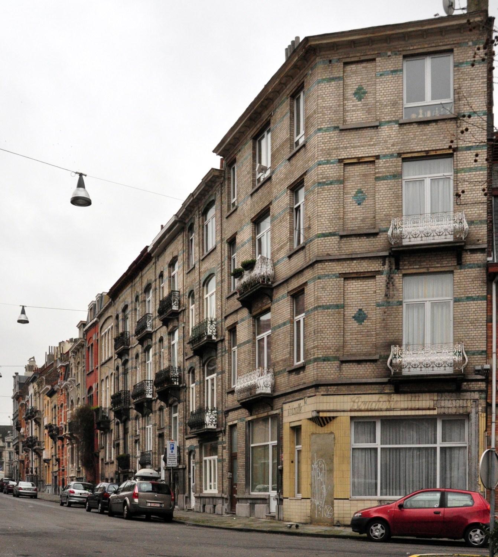 Rue Frans Binjé 3 à 37, 2012