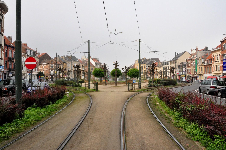 Place de la Patrie, vue vers l'ouest, 2011
