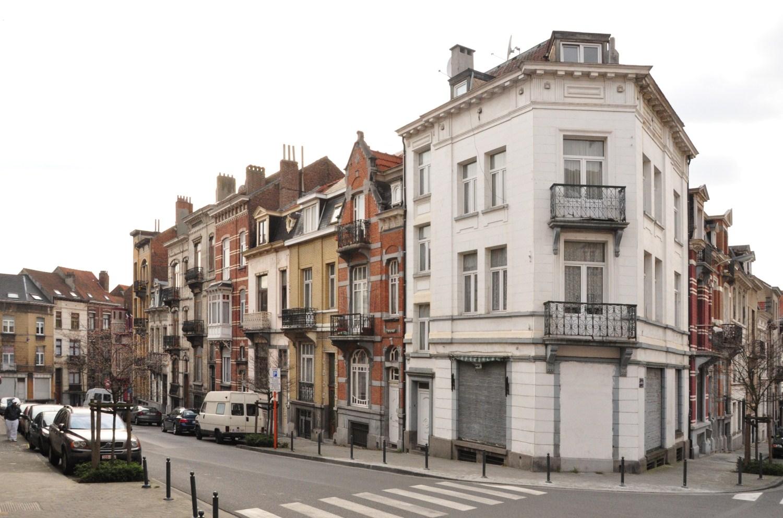 Rue Gustave Fuss, vue du second tronçon côté impair, 2012