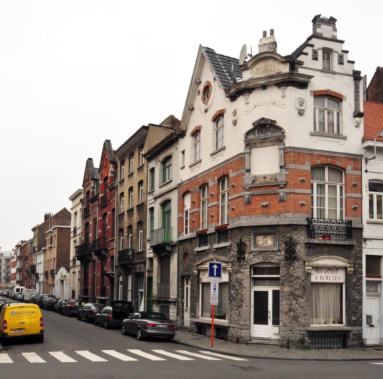 Jacques Jansenstraat, pare zijde richting de Grote Bosstraat, 2012