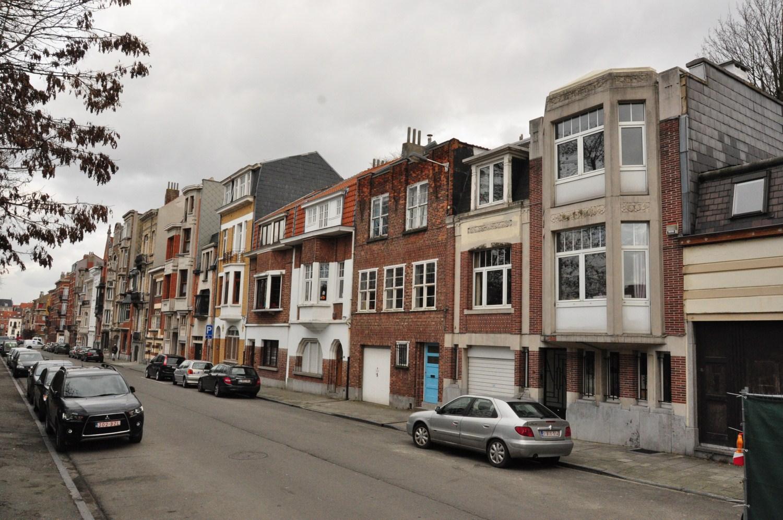Rue Monrose, vue du côté pair, 2012