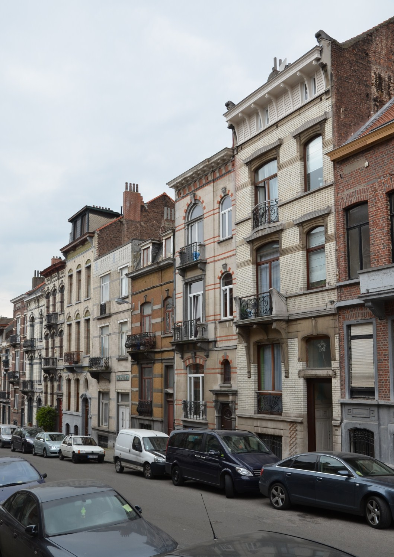 Rue Verbist 117 à 129, 2012