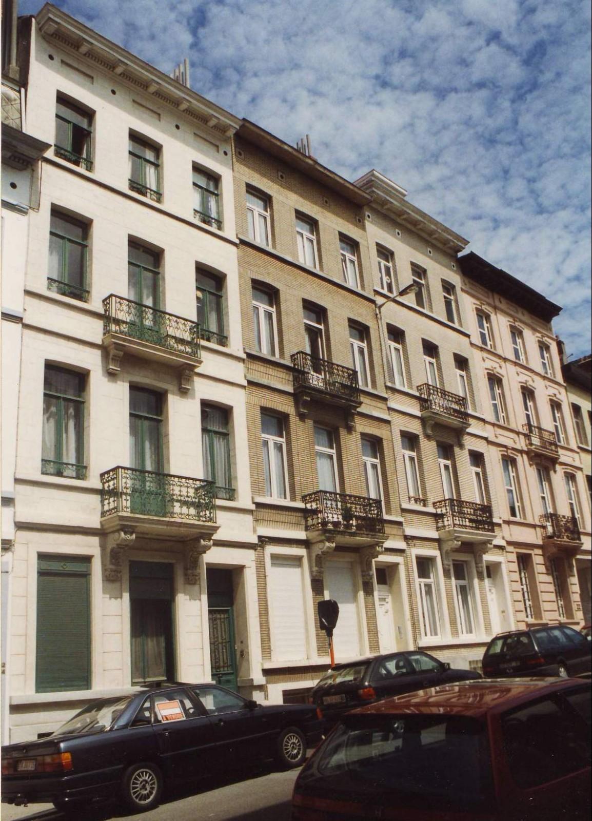 Rue du Cornet 16 à 22., 1994