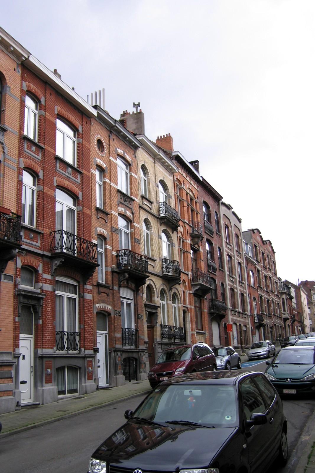 Rue des Erables, côté pair, vue vers l\'avenue de la Chasse., 1994