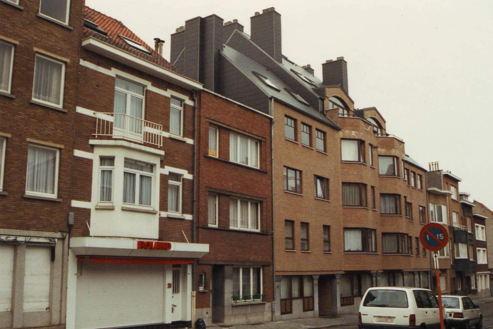 Rue Félix Terlinden, côté impair., 1993