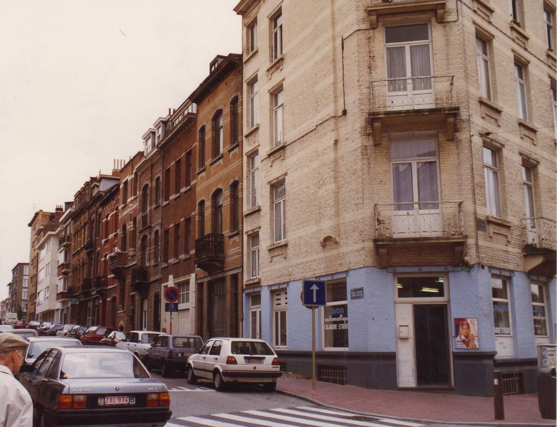 Generaal Wangerméestraat, onpare zijde vanuit de Jachtlaan., 1993