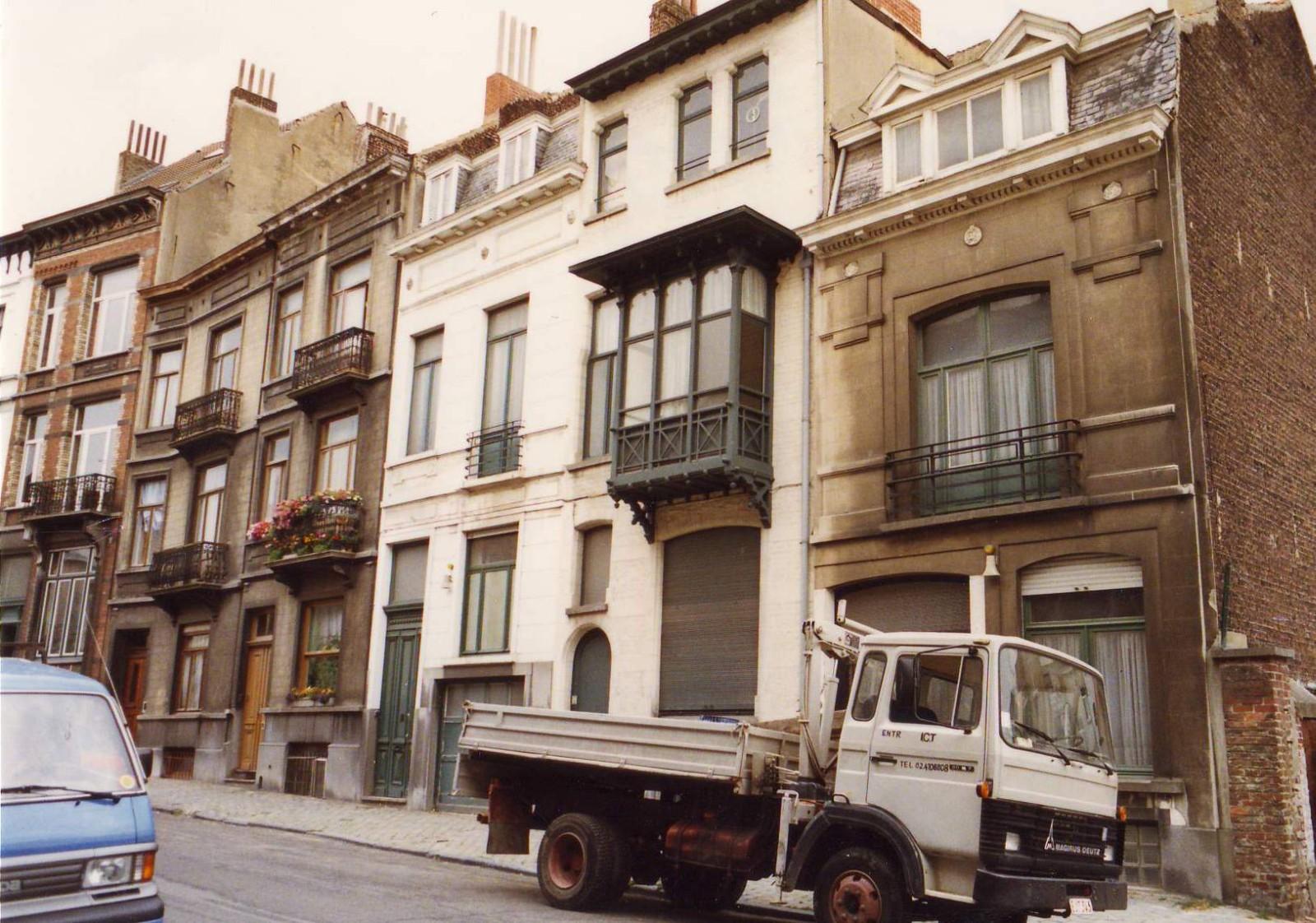 Rue Louis Hap 19 à 29., 1993