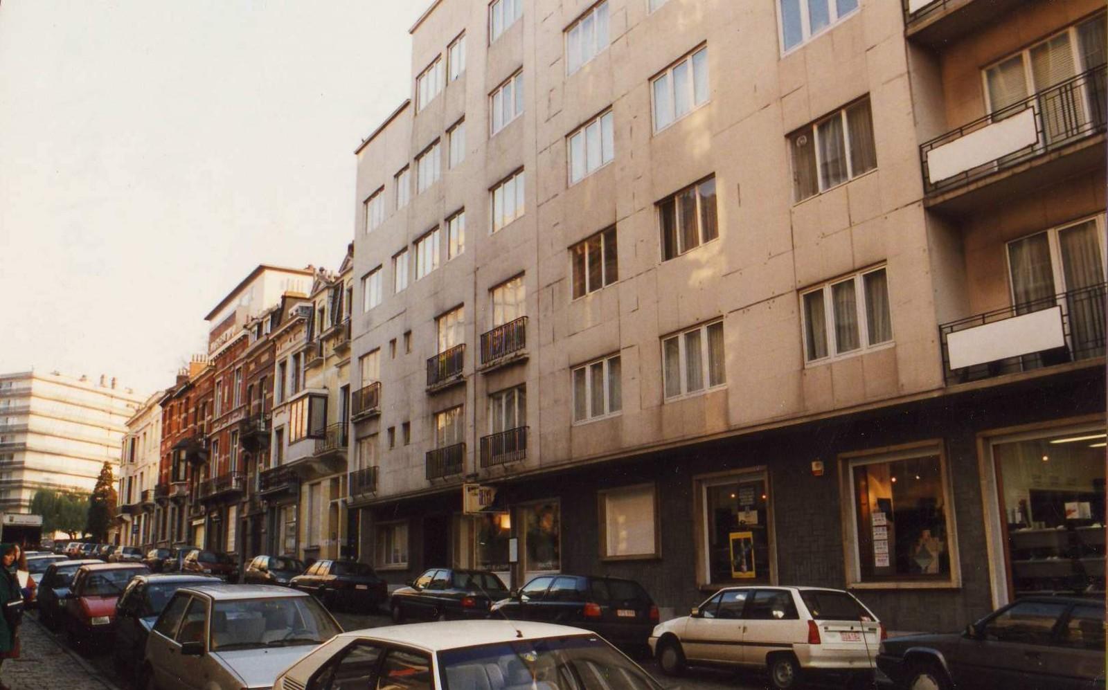 Menapiërsstraat, onpare zijde naar Stafhouder Braffortstraat., 1993