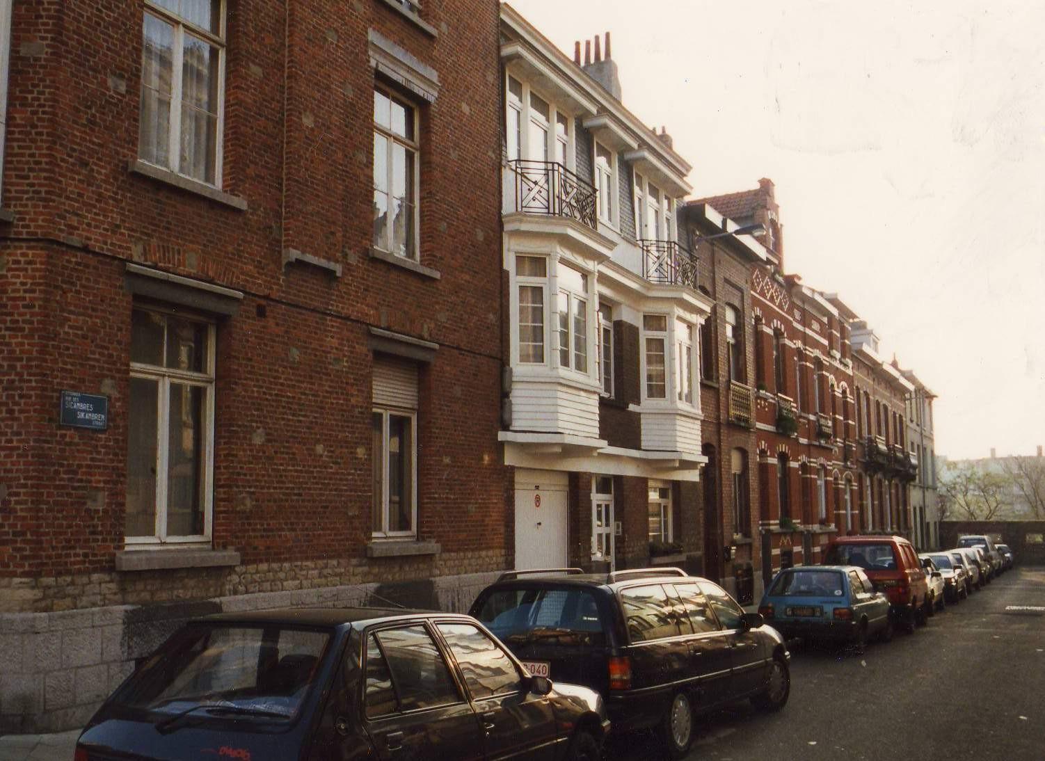 Rue des Sicambres, enfilade côté pair., 1993
