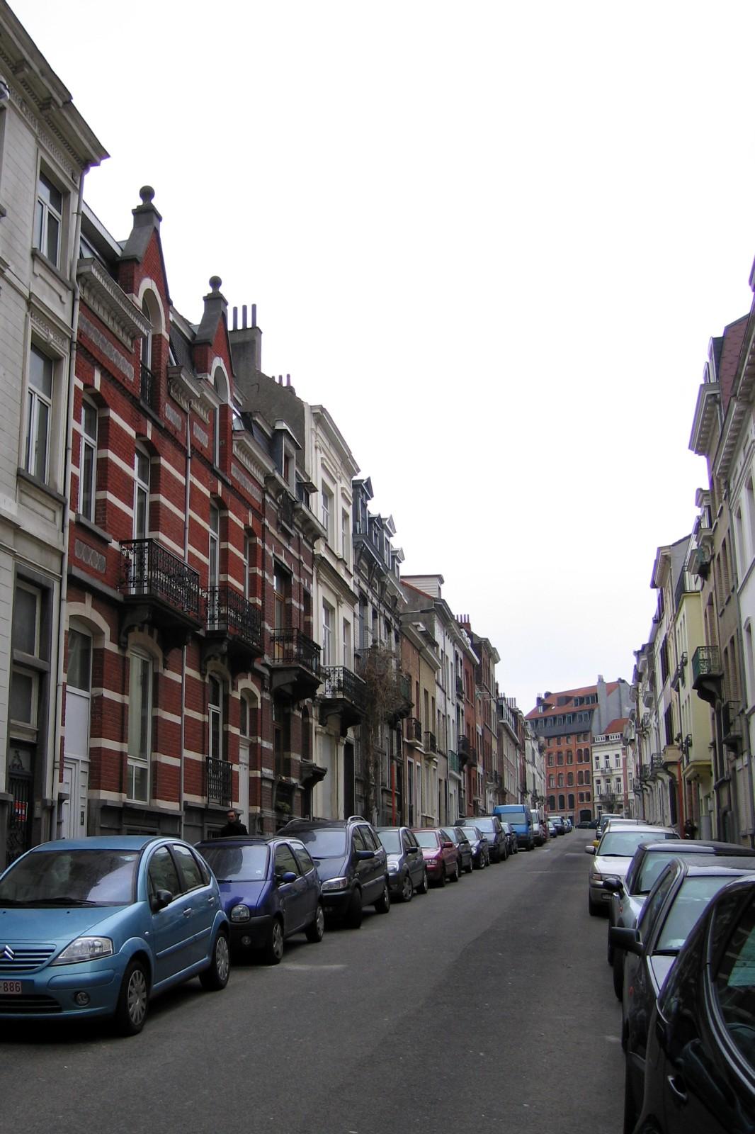 Rue de la Tourelle, vue vers la rue du Cornet., 2007