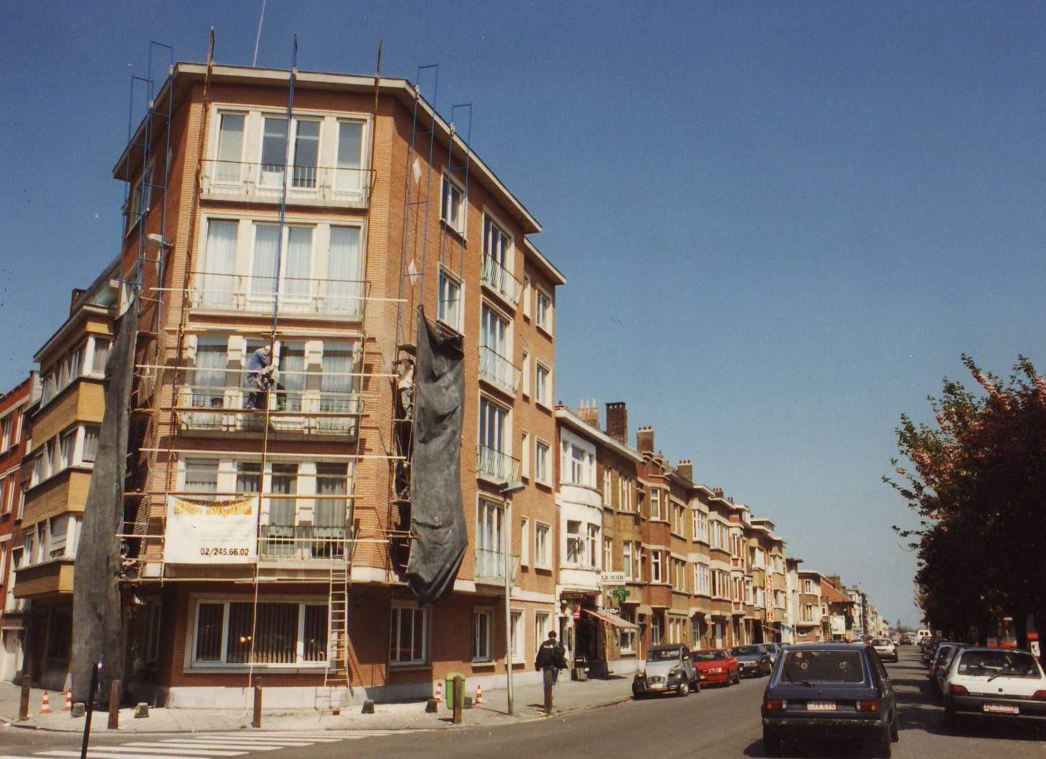 Avenue des Volontaires, côté pair vu depuis la rue Cardinal Lavigerie., 1994