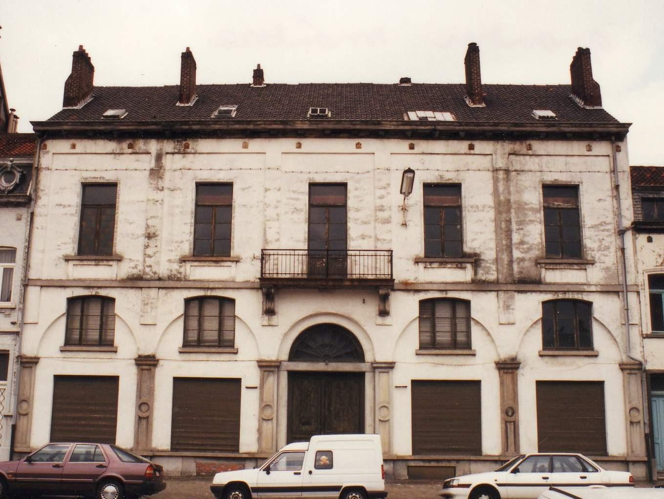 Avenue de la Force Aérienne 19, bâtiment de 1871.