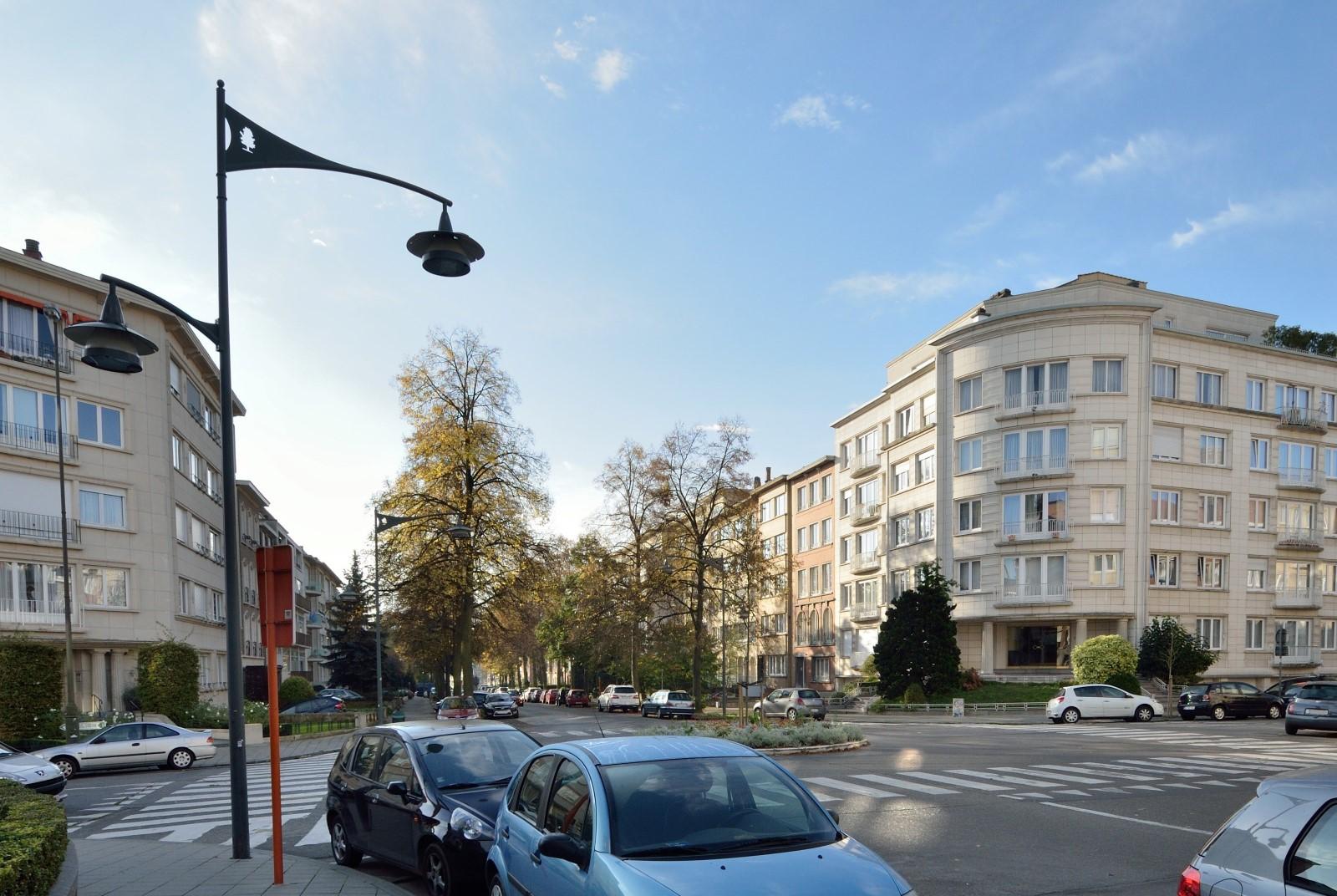 Avenue Armand Huysmans, vue d'ensemble, 2014