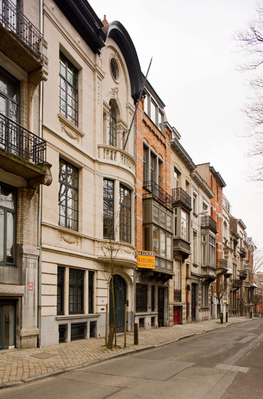 Rue du Bourgmestre, enfilade, 2012