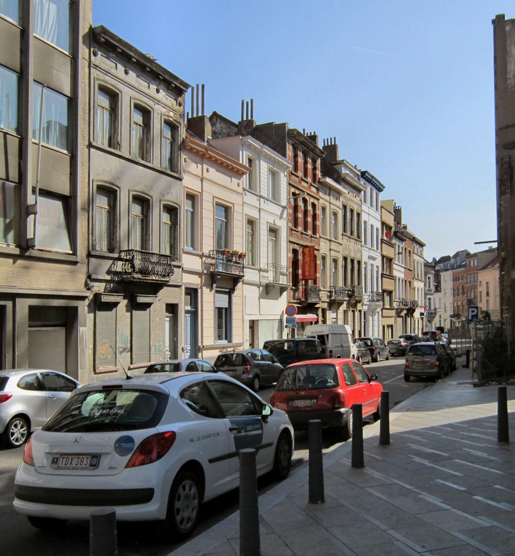 Rue des Cygnes, côté pair, 2010