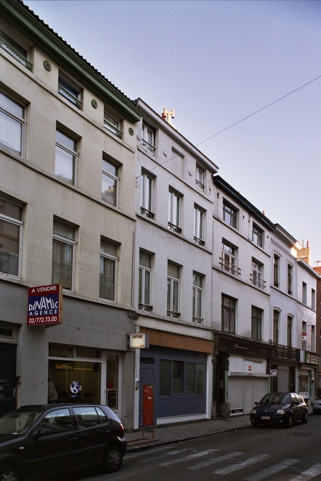 Rue de Dublin, enfilade d'immeubles (côté pair)., 2008