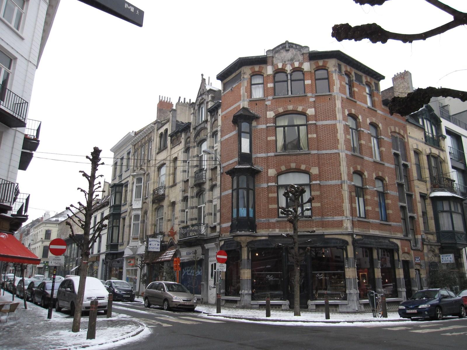 Rue Ernest Solvay, immeubles de l'architecte Ernest Blérot., 2010