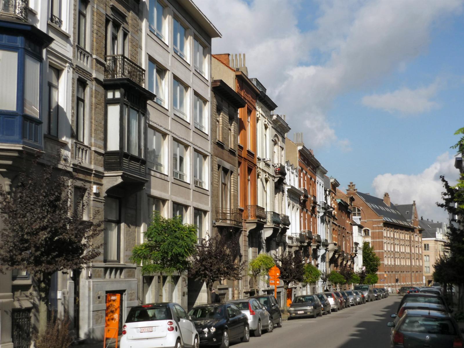 Franz Merjaystraat, onpare zijde richting Waterloosesteenweg., 2008