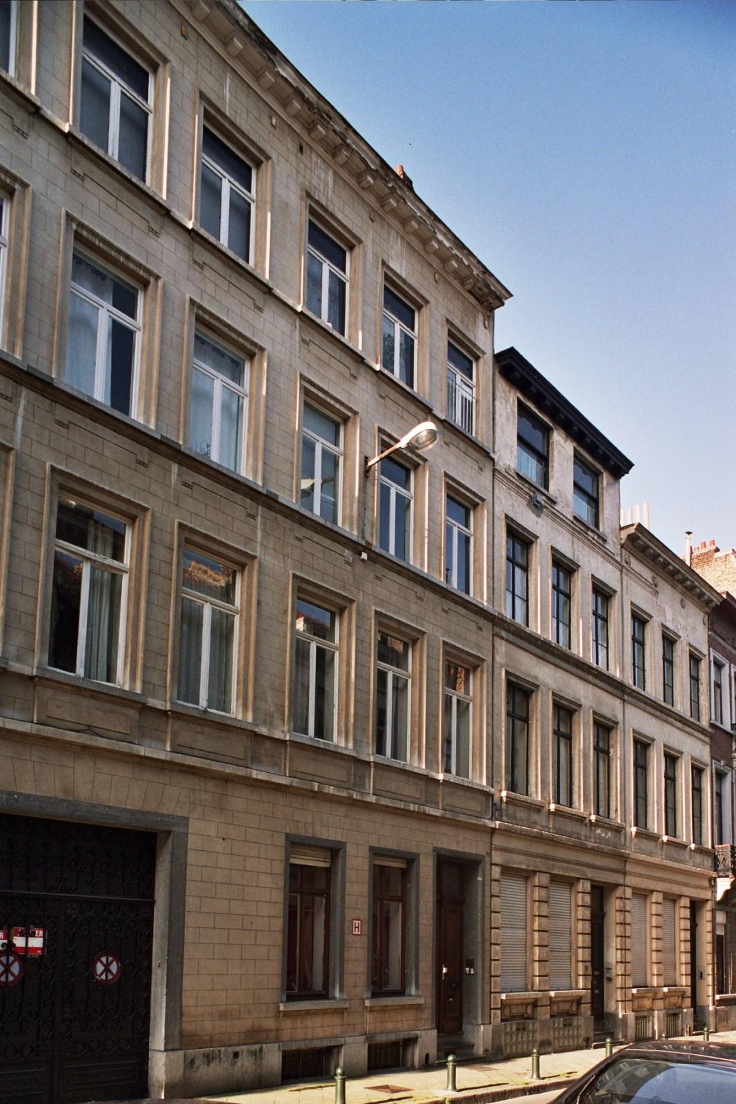 Rue Georges Lorand 13, 11 et 9., 2009