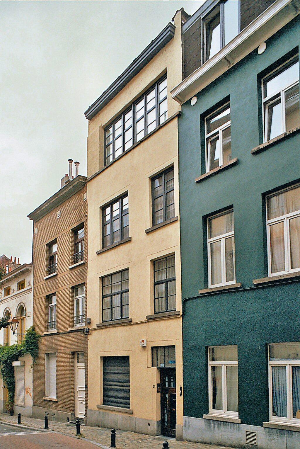 Rue Jean d'Ardenne 21, rhabillé par l'architecte Georges Coteur en 1930., 2009
