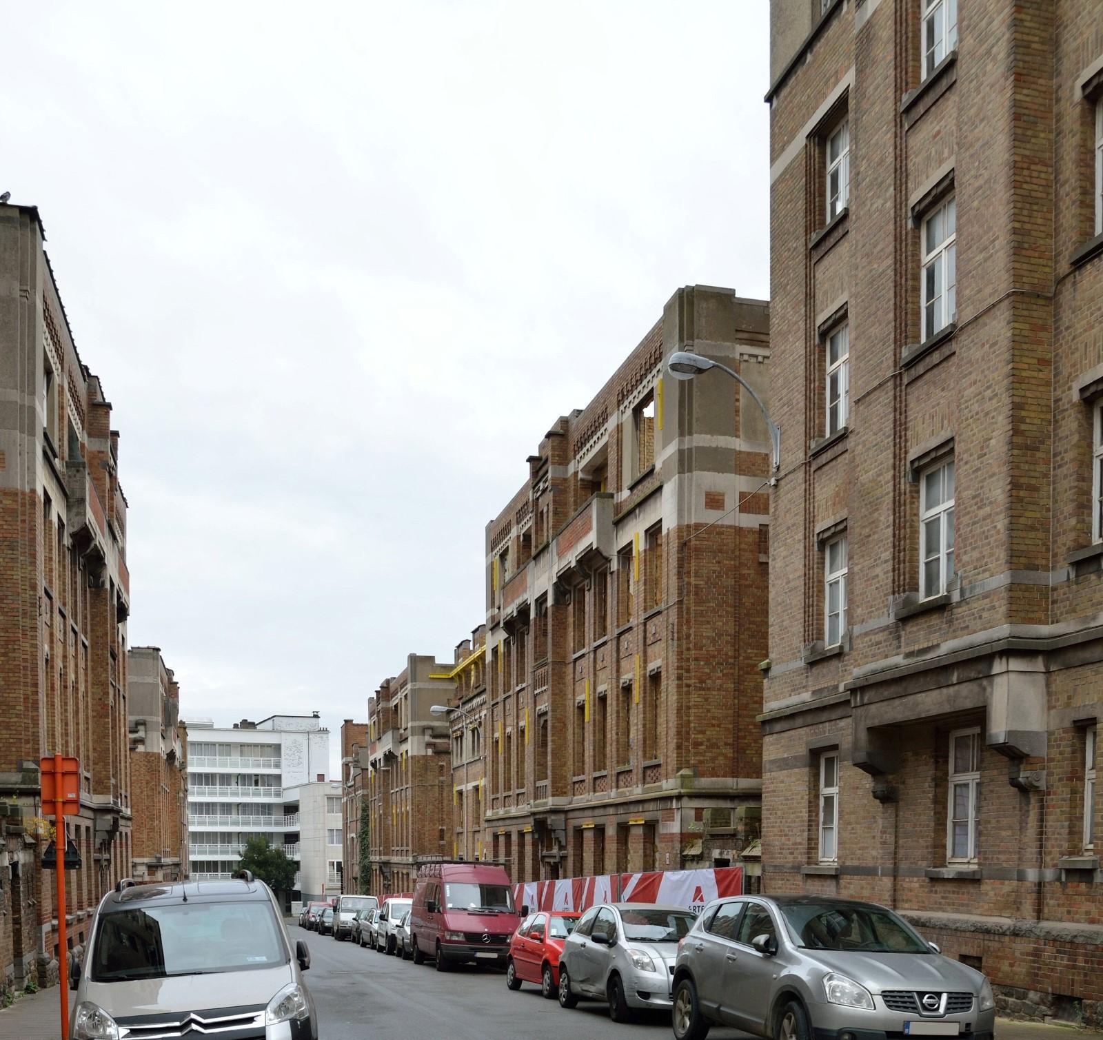 Rue Jean Vandeuren, vue d'ensemble, 2014