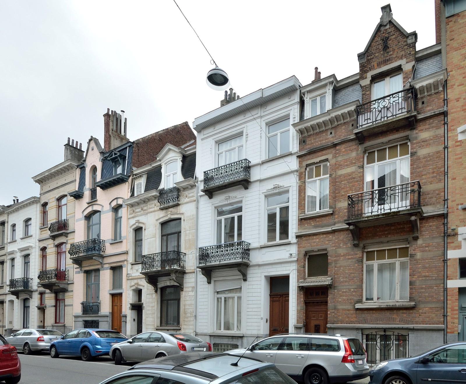 Maximilienstraat, algemeen zicht (onpare zijde)