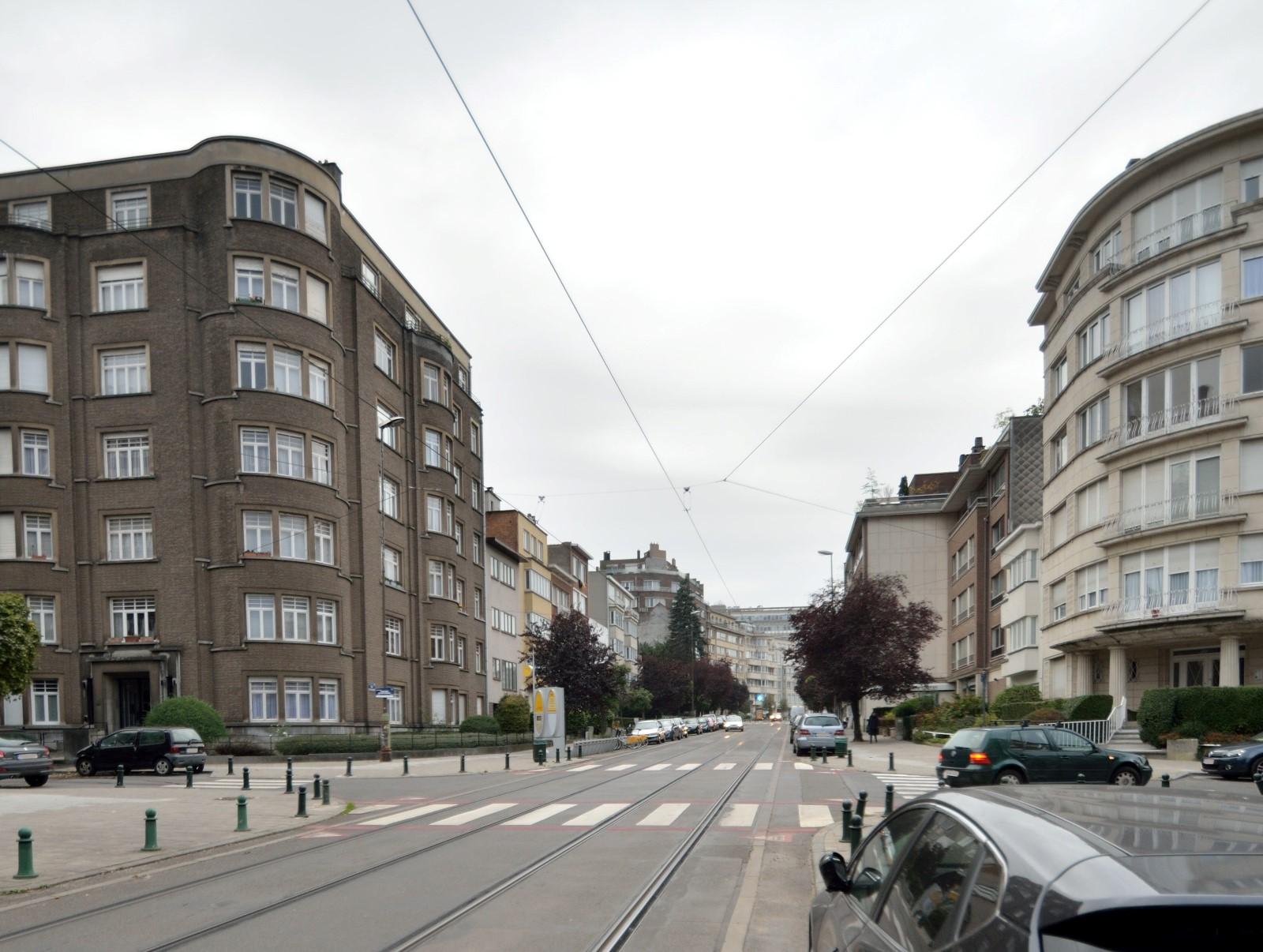 Avenue du Pesage, vue d'ensemble, 2014