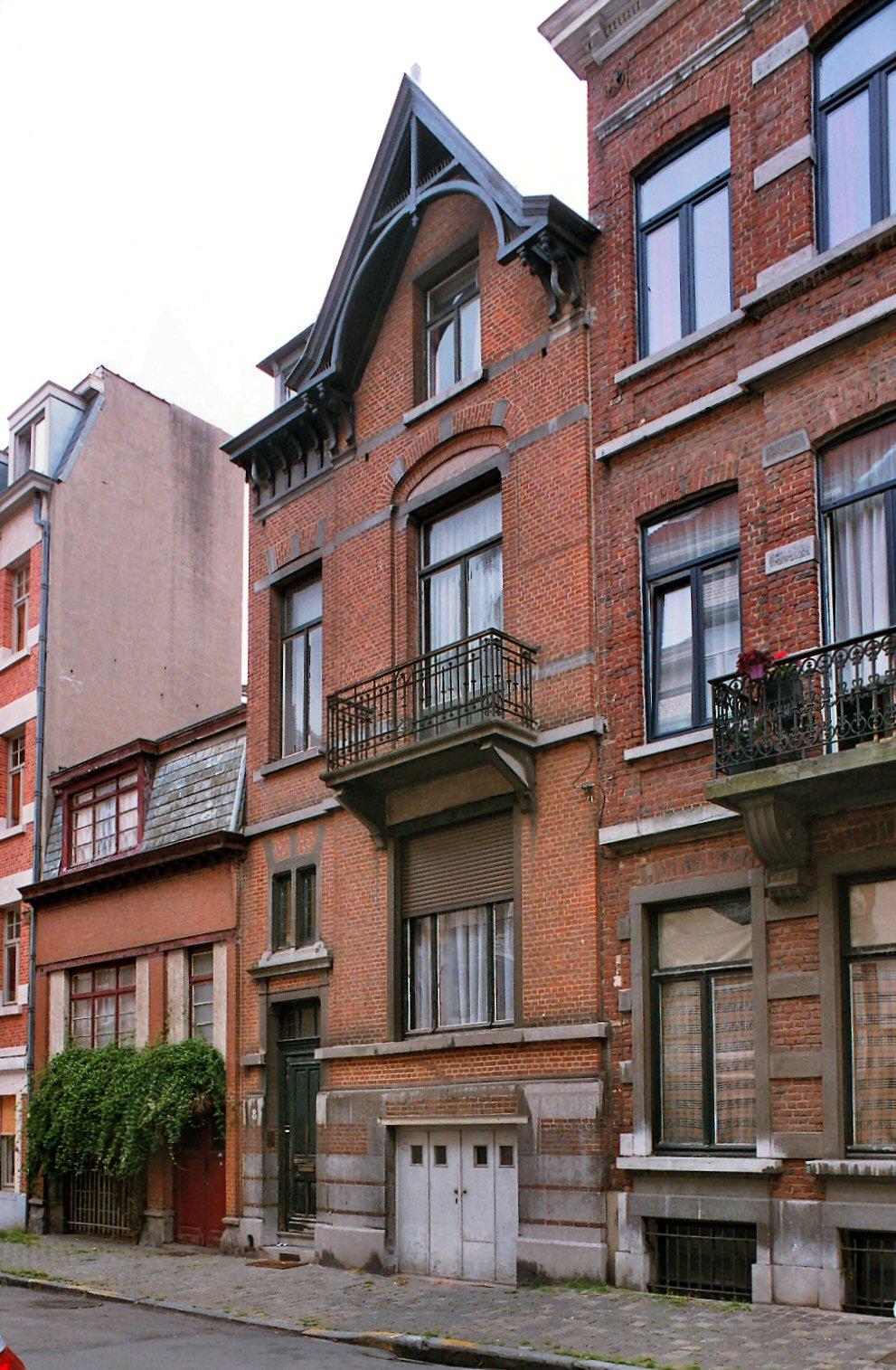 Rue Van Elewyck 8., 2009