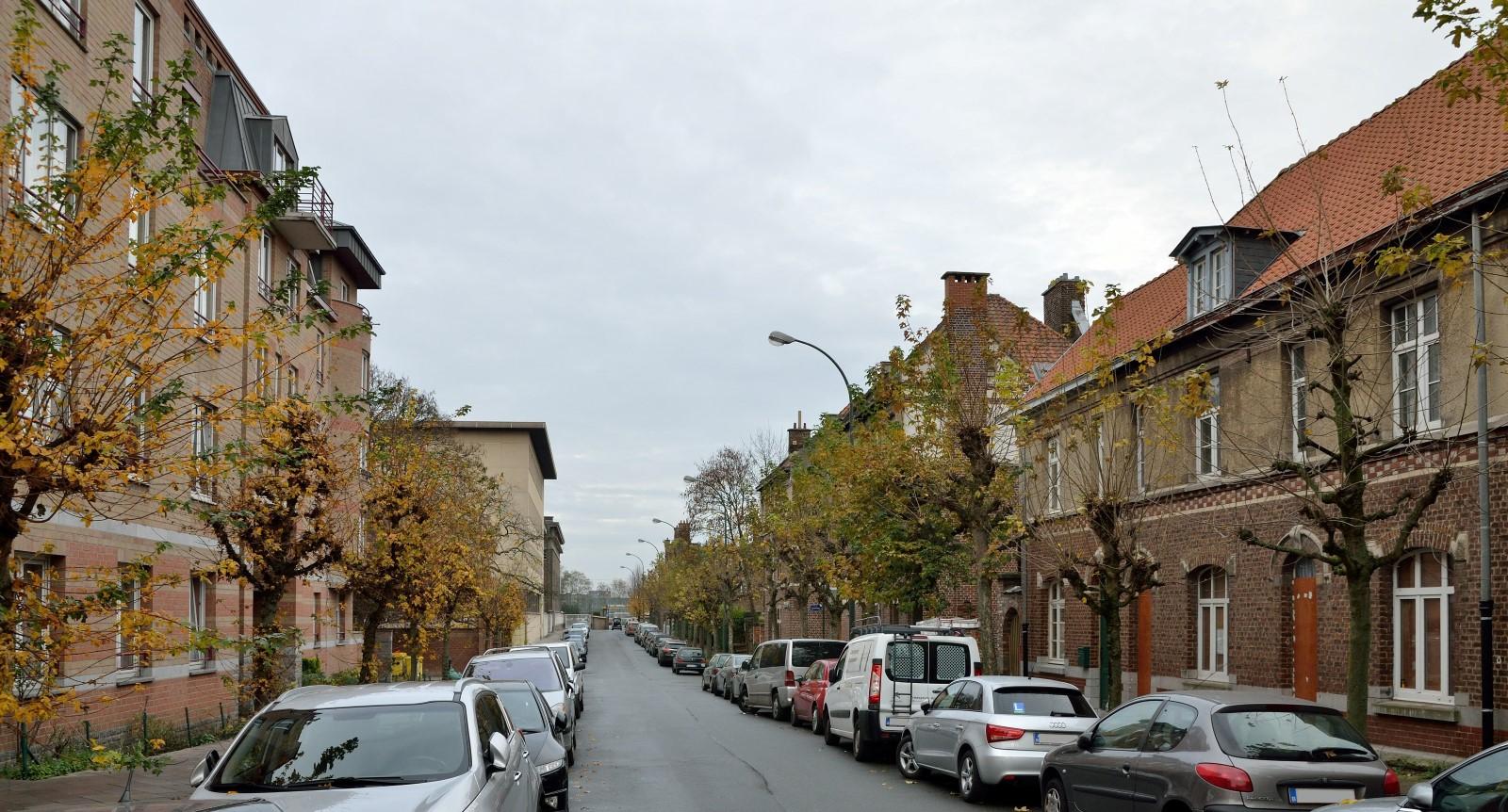Voltastraat, algemeen zicht, 2014