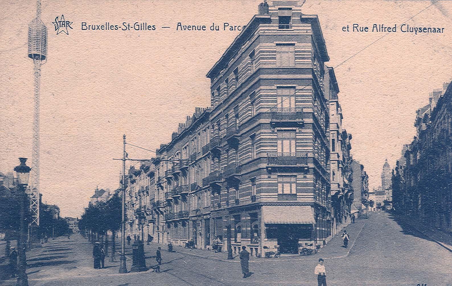 Rue Alfred Cluysenaer (Collection de Dexia Banque, s.d.)