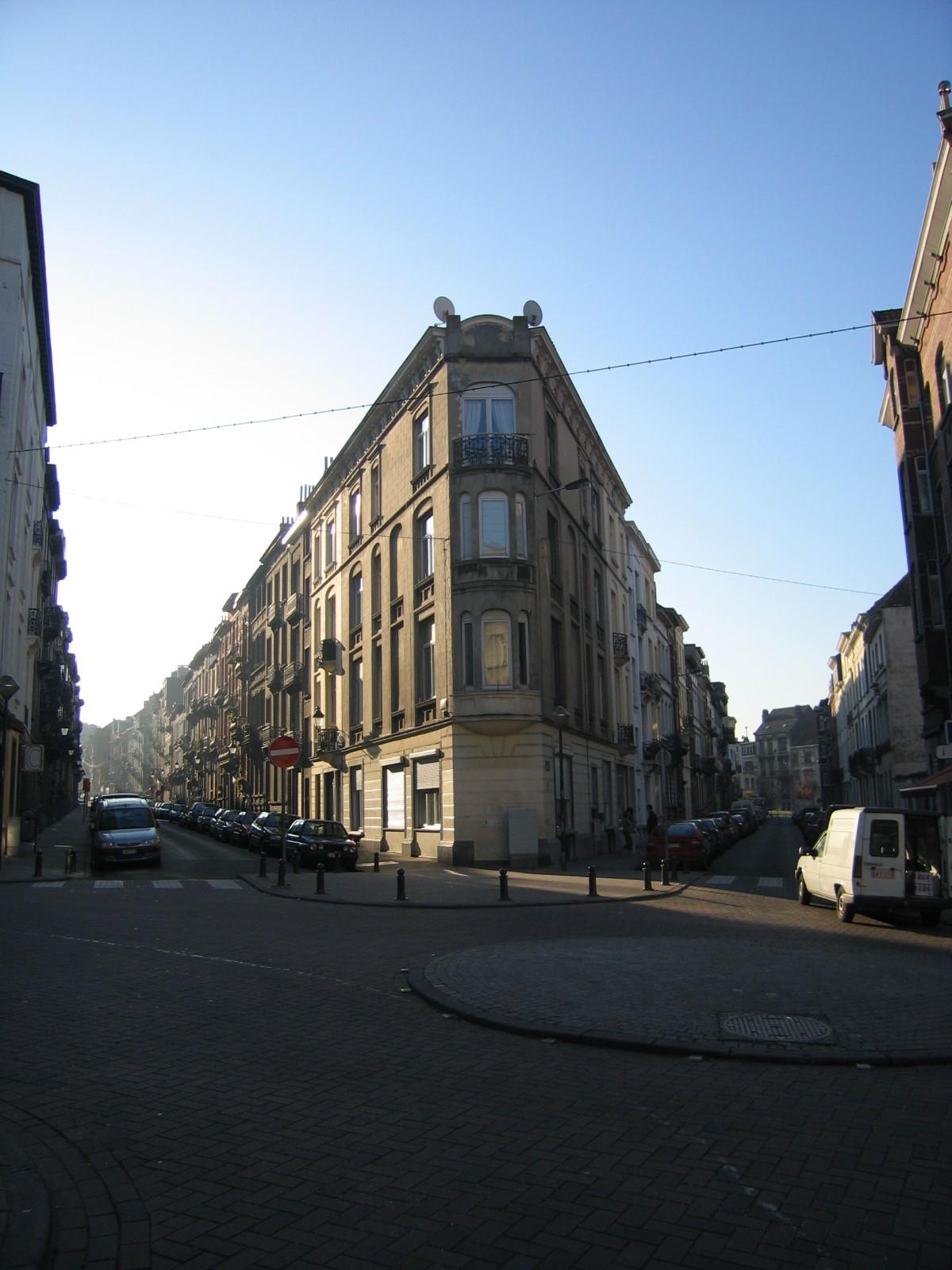 Vue des rues André Hennebicq et Fernand Bernier., 2004