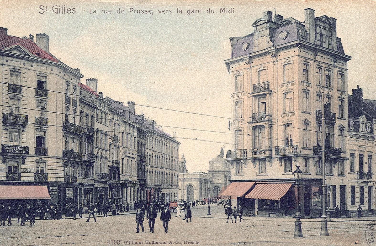 Rue d\'Argonne, anc. rue de Prusse (Collection de Dexia Banque, s.d.).