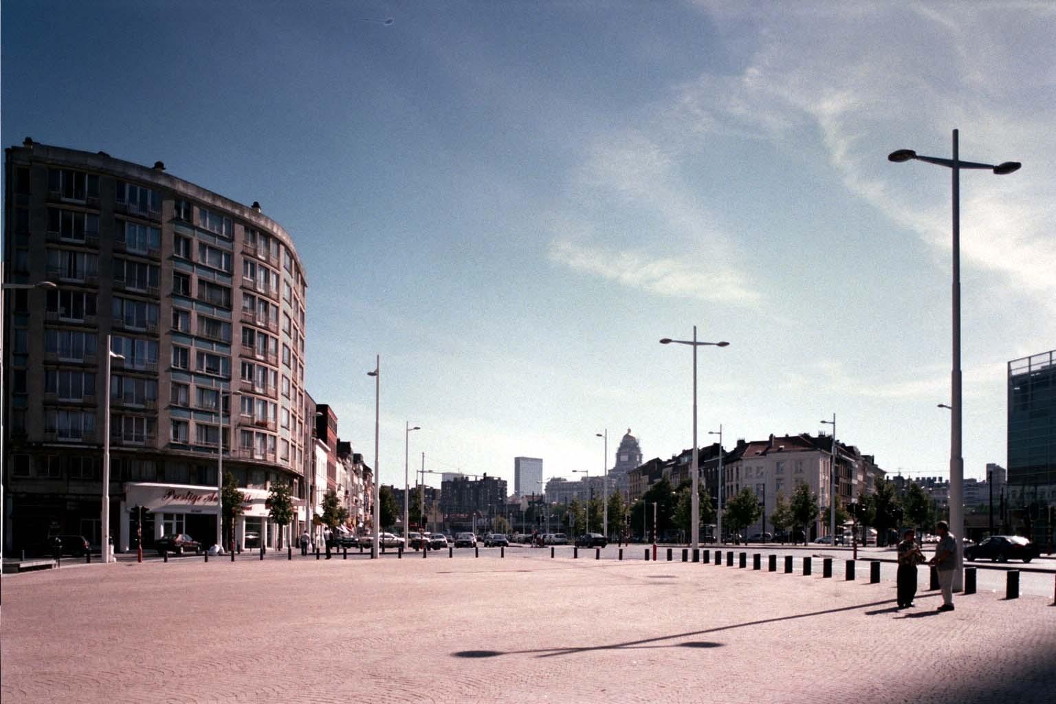 Baraplein in zuidoostelijke richting., 2004