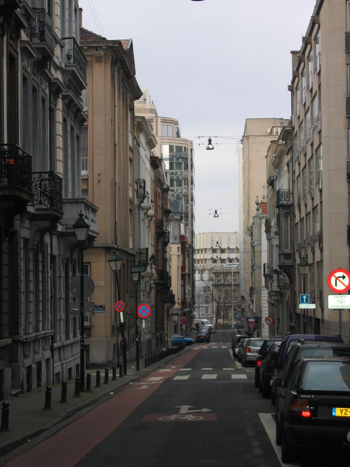 Bosquetstraat, richting Guldenvlieslaan., 2004