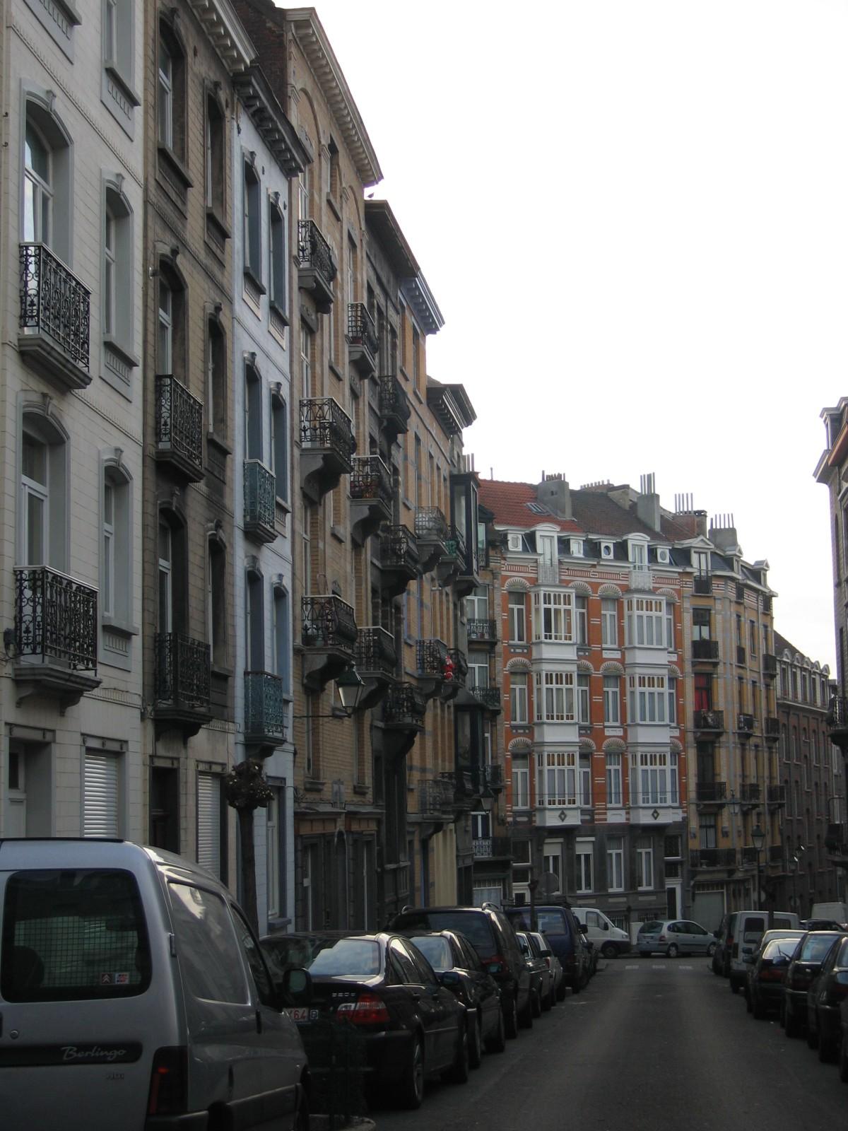 Pare zijde Crickxstraat vanuit Vorstsesteenweg., 2004