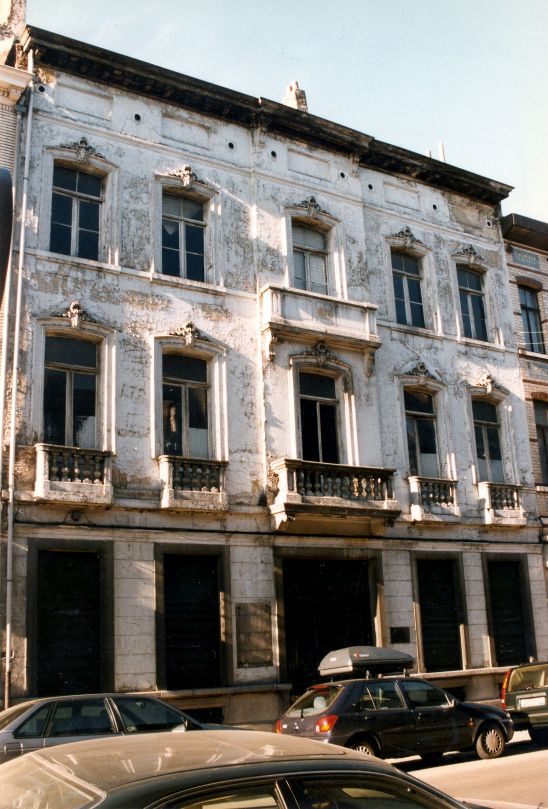 Rue de Mérode 127, bâtiment act. à l\'abandon., 1997