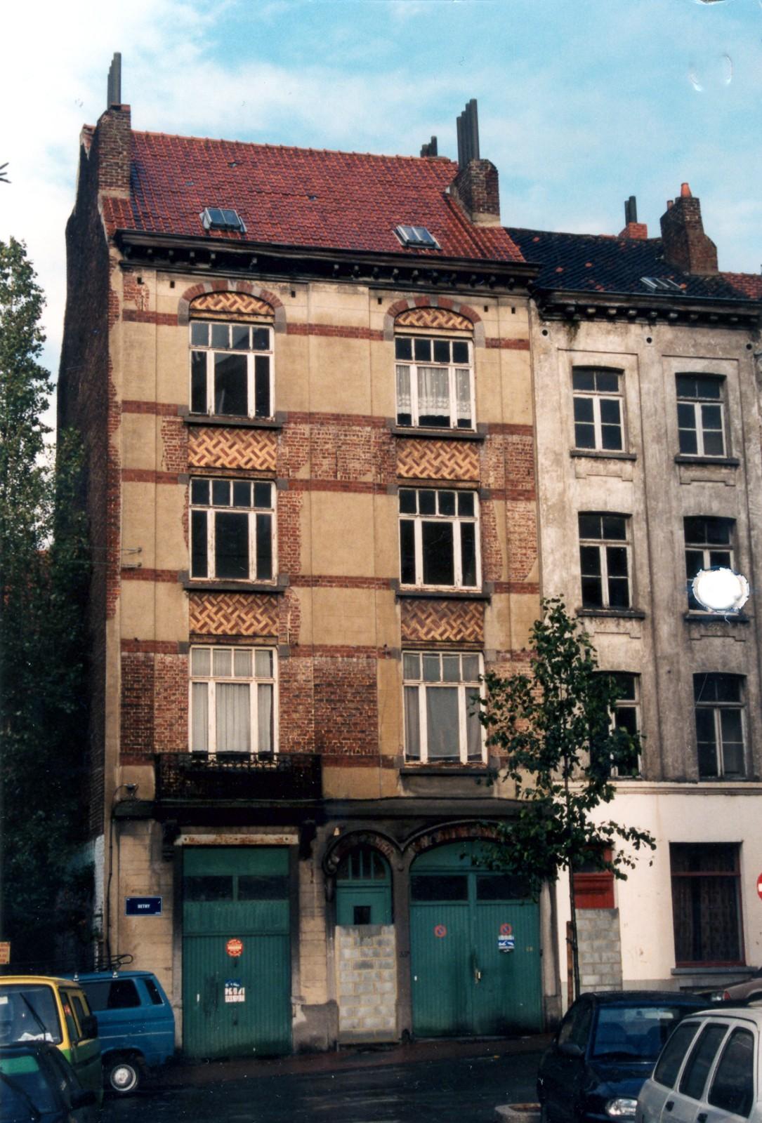 Dethystraat 33, heden afgebroken., 1994