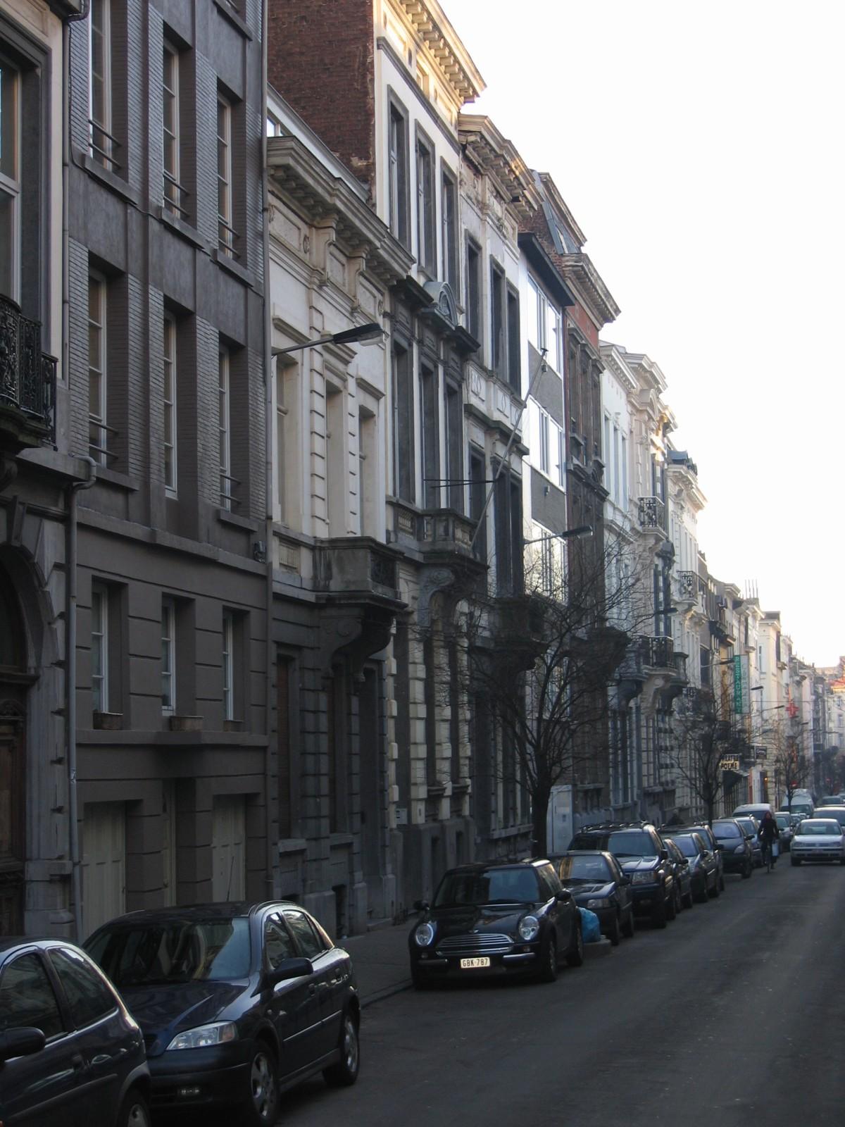 Pare zijde Schotlandstraat vanuit Bosquetstraat., 2005