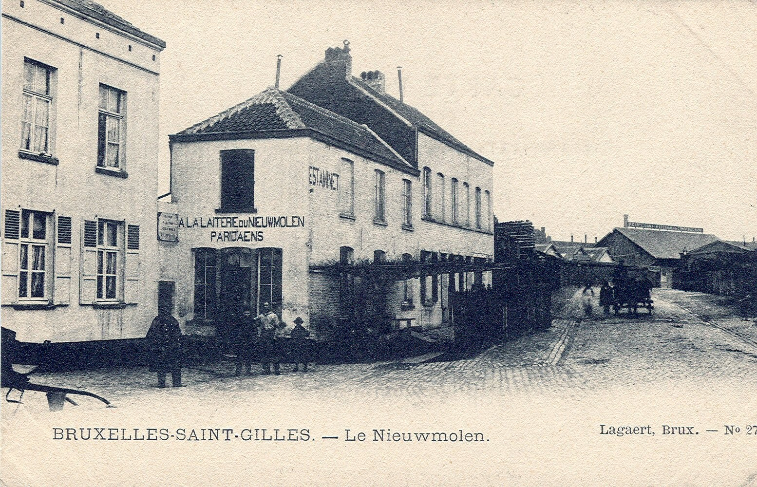 Le Nieuwmolen (Collection de Dexia Banque, s.d.).