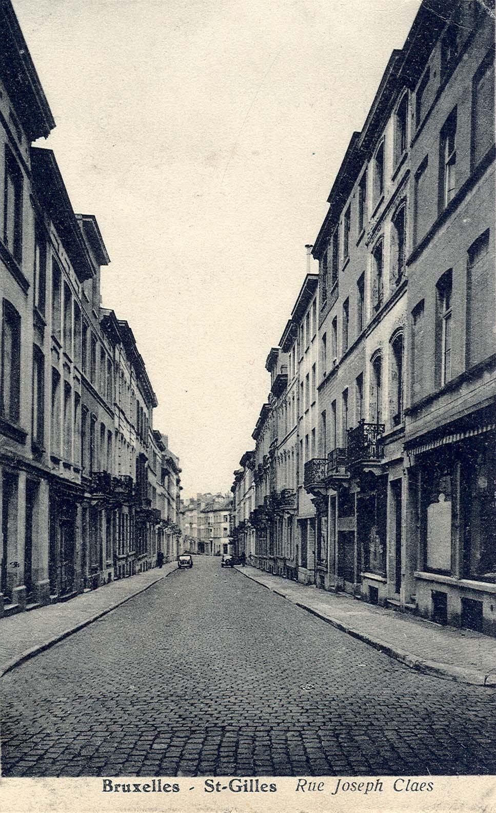 Rue Joseph Claes (Collection de Dexia Banque, 1949).