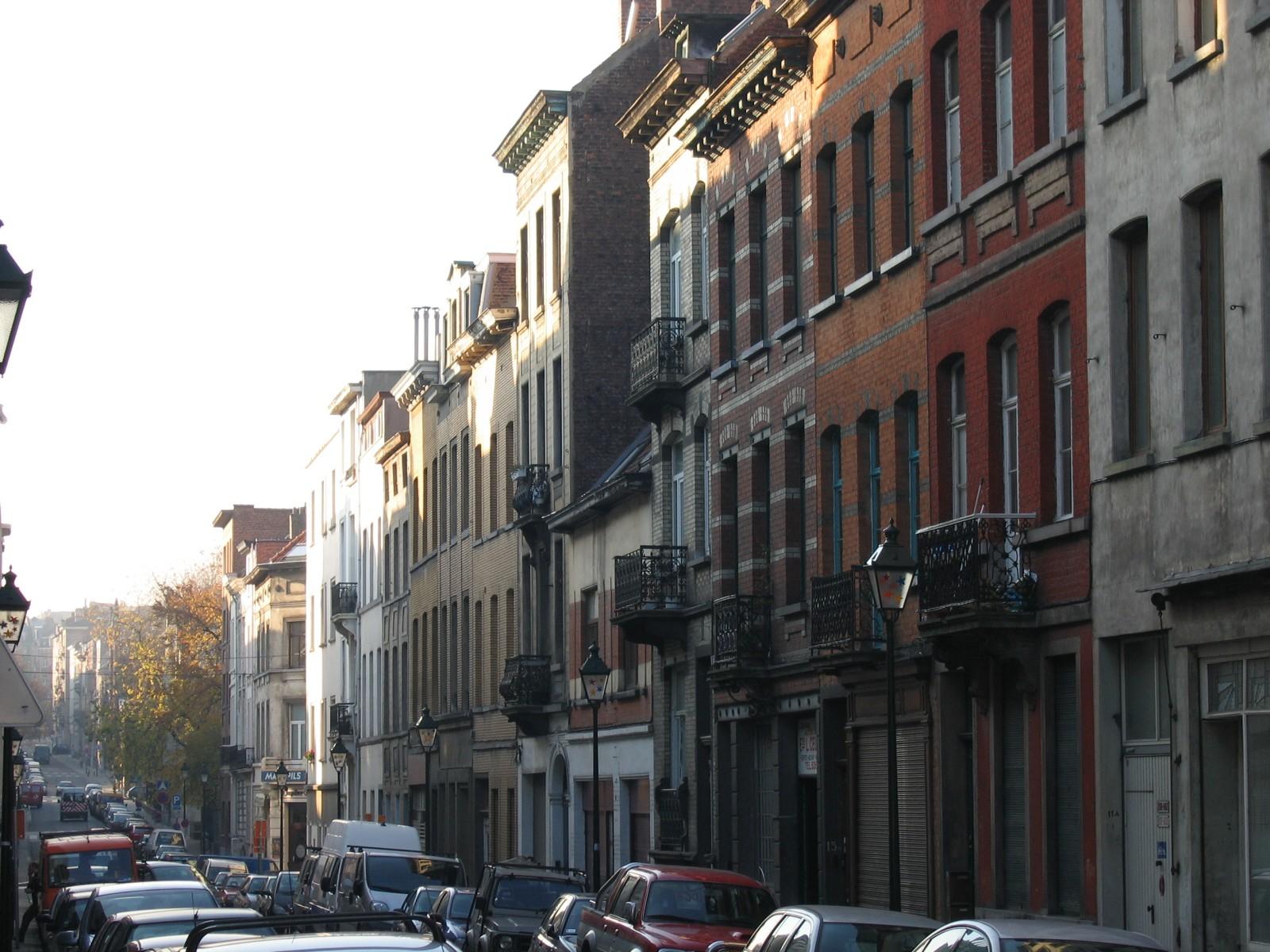 Vue depuis la rue du Métal., 2004