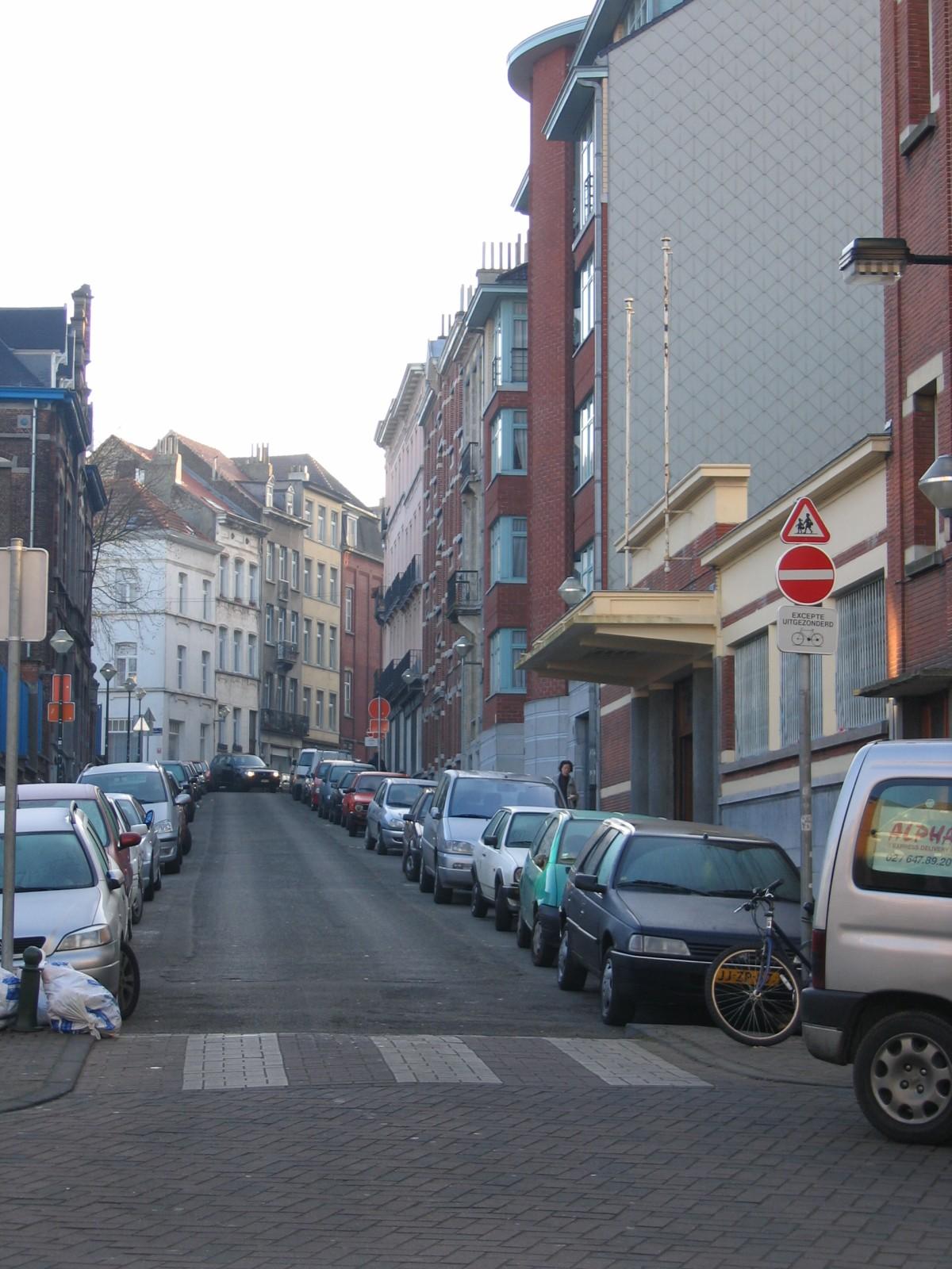 Wipstraat naar Sterckxstraat., 2004