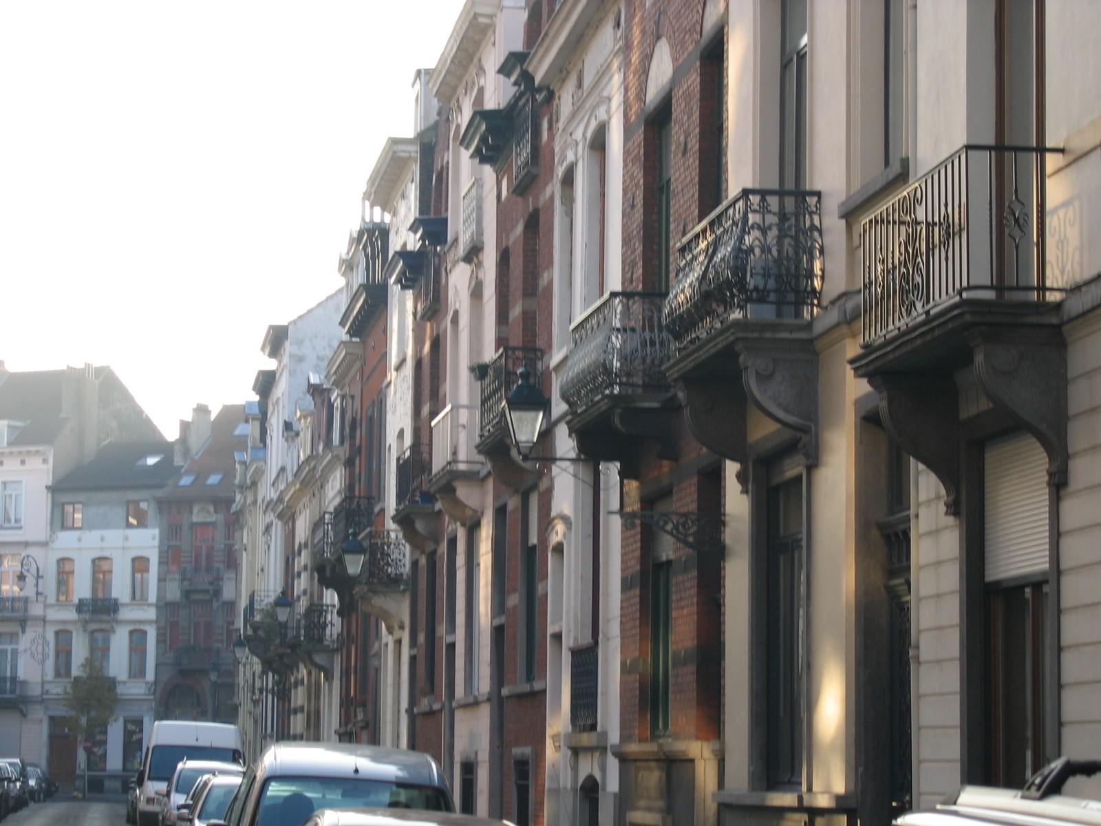 Pare zijde Portugalstraat vanuit Morisstraat., 2004