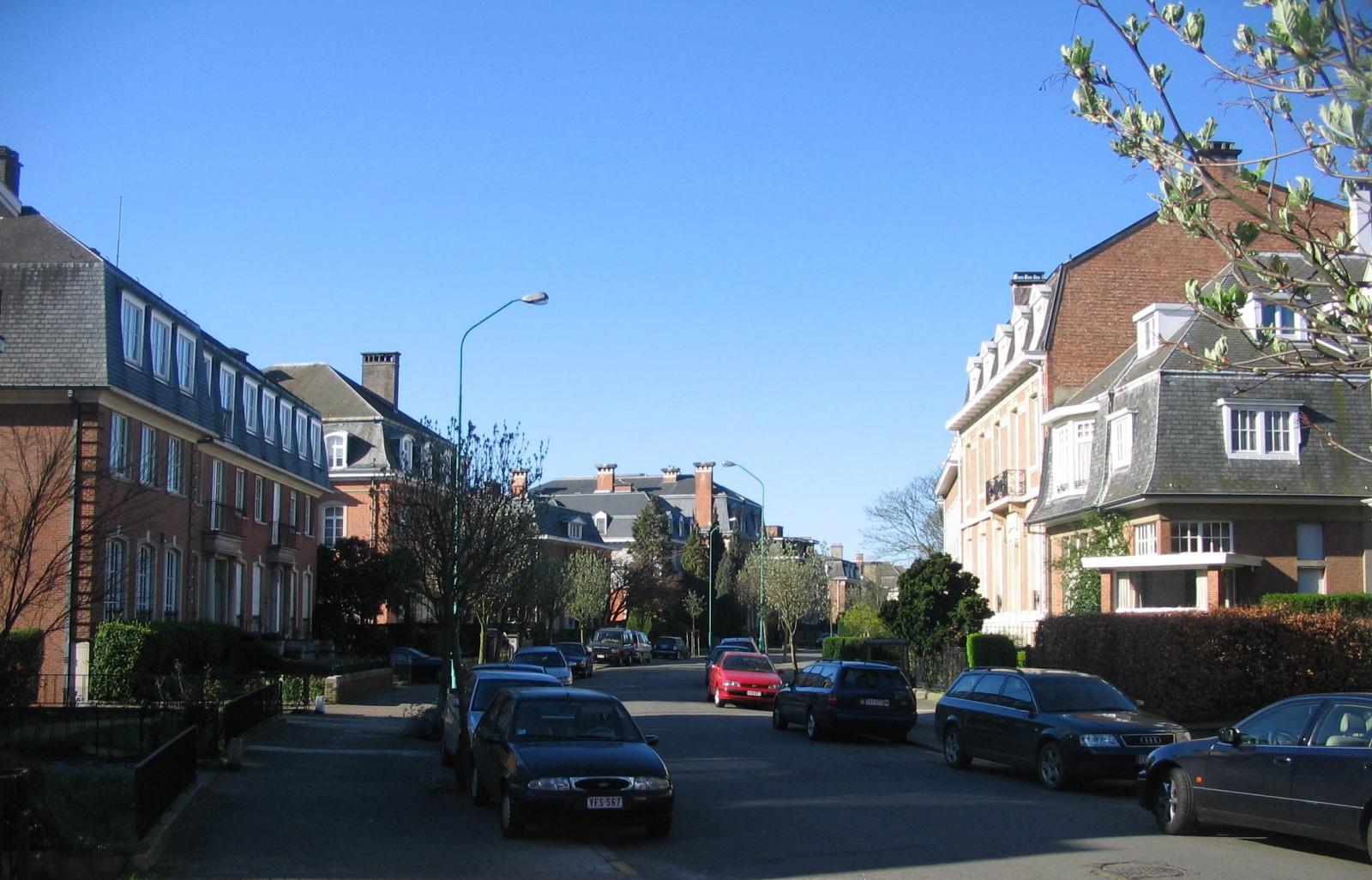 Avenue de l'Horizon depuis l'avenue de Tervueren., 2007
