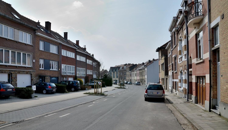 Konkelstraat, onpare zijde aan linkerkant, 2013