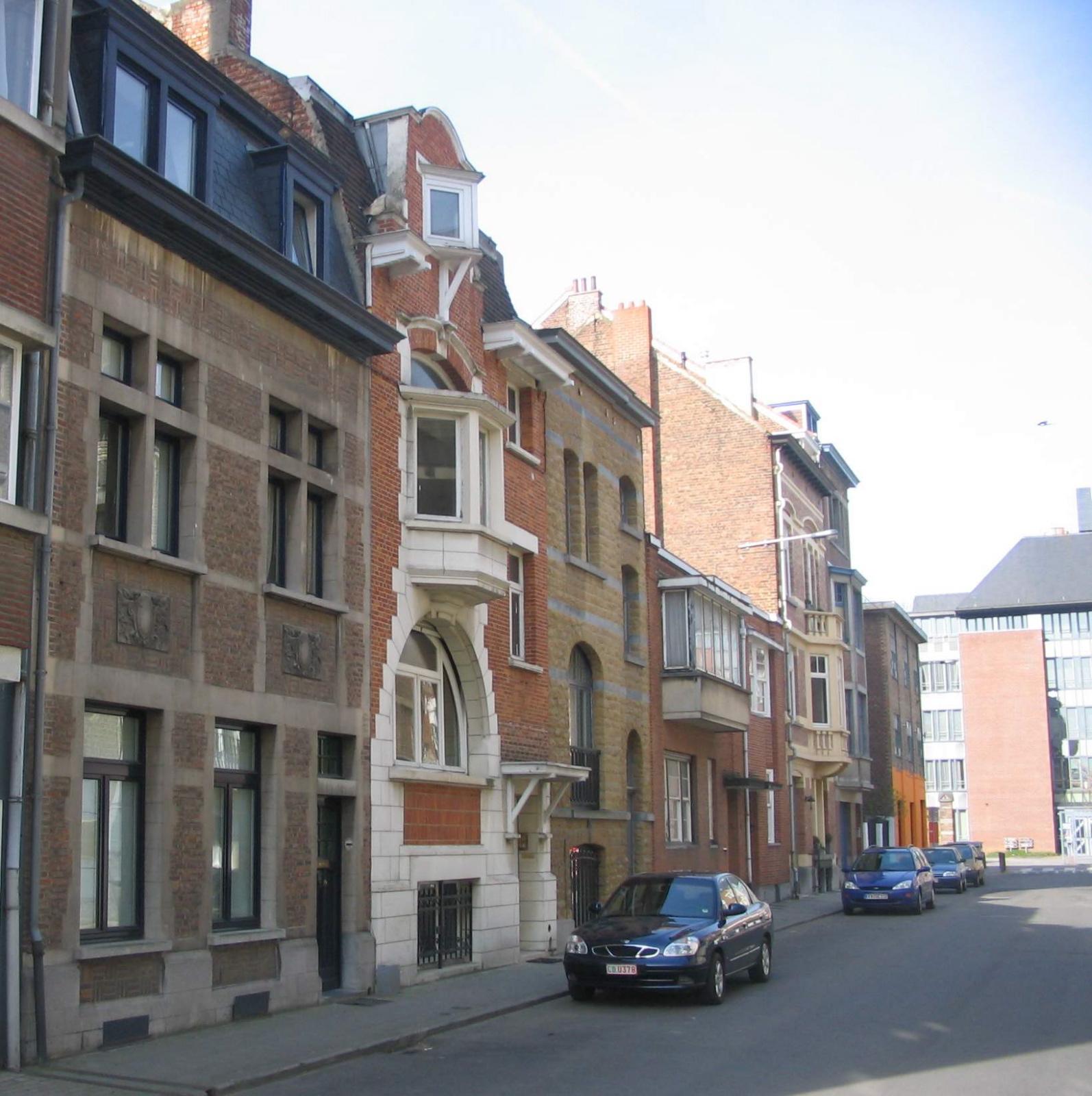 Sint-Huibrechtsstraat, pare zijde naar Maurice Liétardstraat., 2007