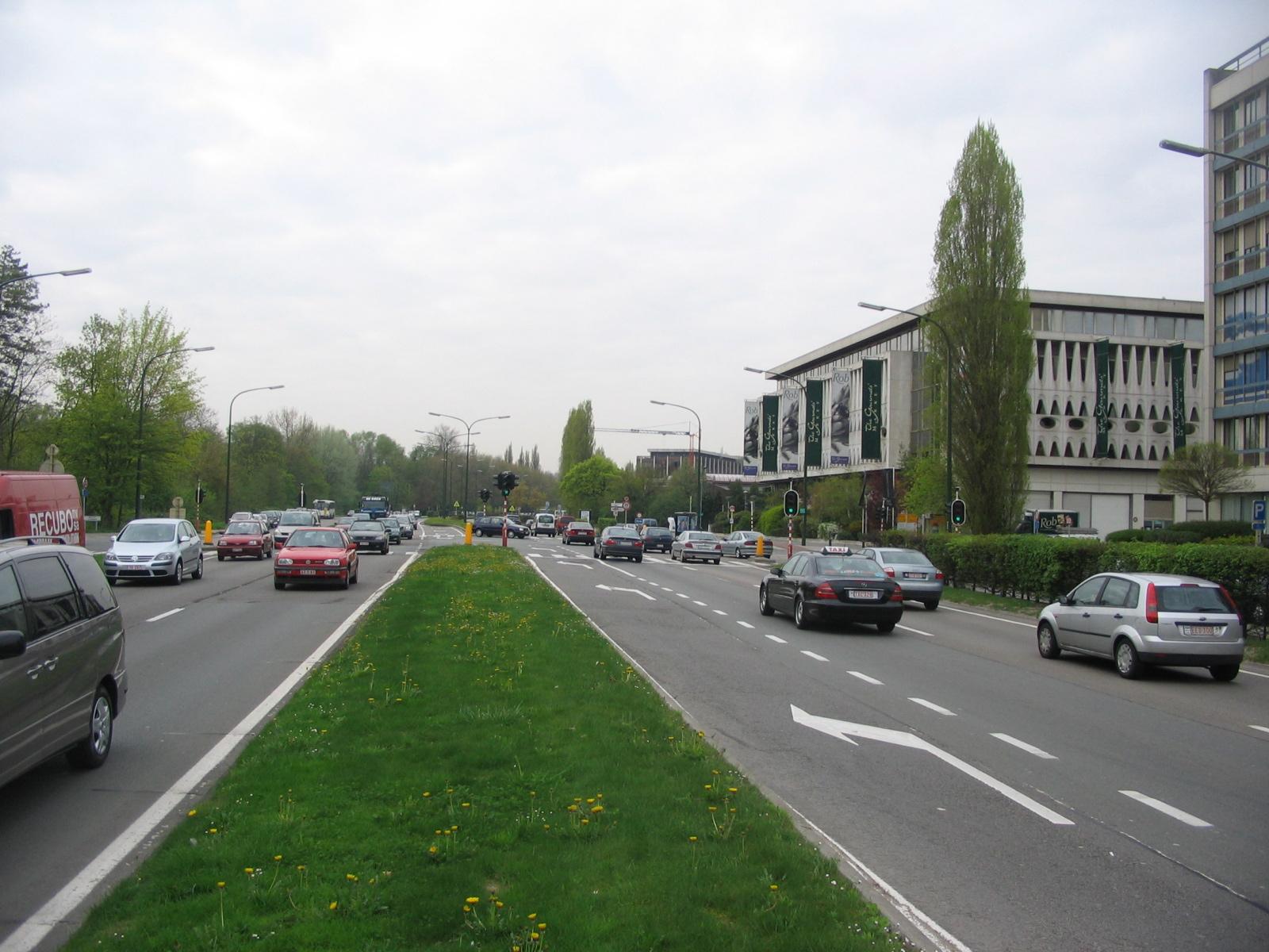 Le boulevard de la Woluwe., 2006